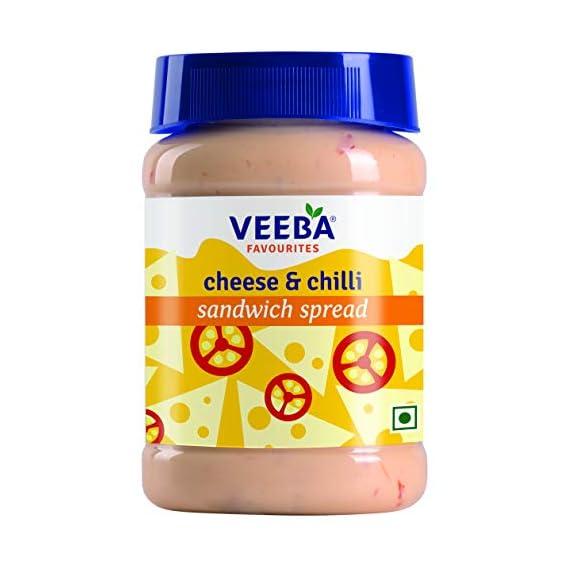 Veeba Cheese and Chilli Sandwich Spread, 275g