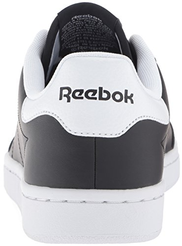 Reebok Mens Kunglig Smash Mode Sneaker Svart / Vit