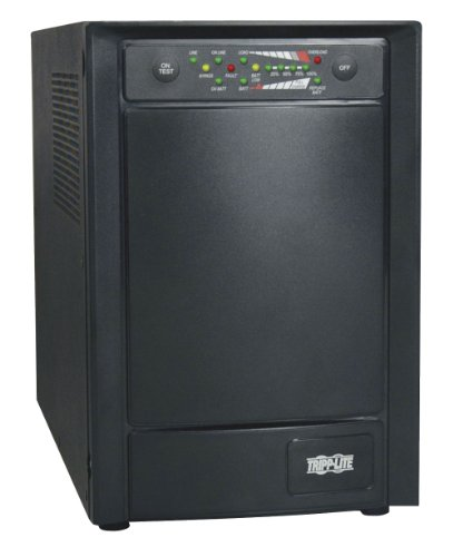 - Tripp Lite SU1000XLA 1000VA 800W UPS Smart Online Tower 100V - 120V USB DB9 SNMP RT, 6 Outlets