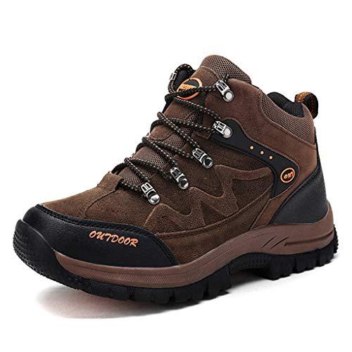 (Giles Jones Men's Hiking Boots High-top Outdoor Comfort Breathable Trekking Shoes)