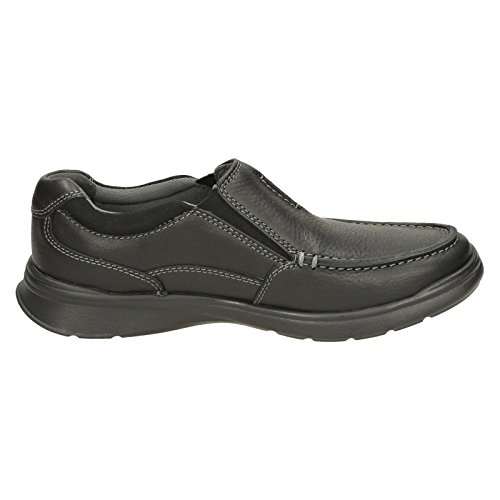Lea Oily para Free Black Cotrell Hombre Clarks Mocasines cyqfg0agB