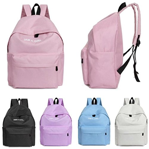 mochilas escolares juveniles niña Switchali bolsas escolares moda Mochila escolares niño mochilas mujer casual Mochila bolsas deporte viaje (Azul): ...