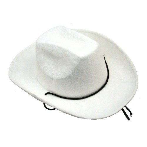 US Toy Cowboy Hat White Costume