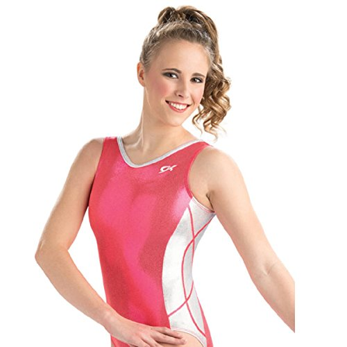 GK Elite Orangeade Shine Workout Leotard Adult Small AS by GK Elite