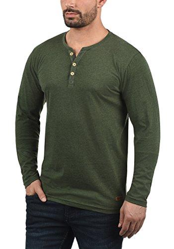 T Melange Longues shirt Manches Homme Volko Tunisien 8785 Climb À solid Ivy gXnZ5avq