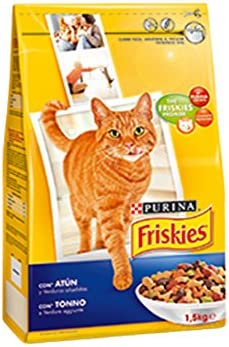 Purina Friskies Comida para Gato, 400gr: Amazon.es: Productos para mascotas