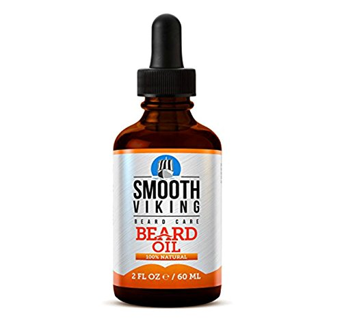 Smooth Viking Beard Oil for Men Use with Balm & Conditioner for the Best Facial Hair