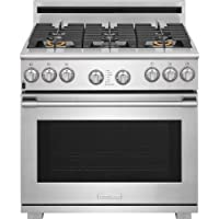 Electrolux E36GF76TP 36 Inch Wide 6 Cu. Ft. Free Standing Gas Range with CustomC, Stainless Steel