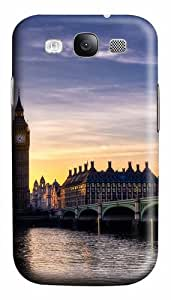 Big Ben London Custom Polycarbonate Hard Case Cover for Samsung Galaxy S3 SIII I9300