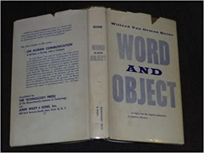 Téléchargements de livres électroniquesWord and Object B00CKDIH7S by Willard Van Orman Quine (French Edition) RTF