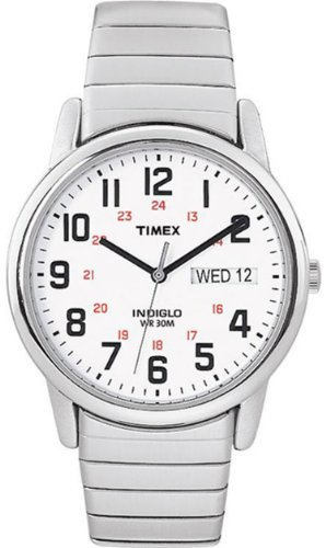 Timex Men's Easy Rider Silver Stainless Steel Expansion Band, Watch Central