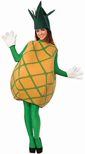 Forum Novelties Pineapple Costume, Yellow, Standard - Adult Watermelon Costumes