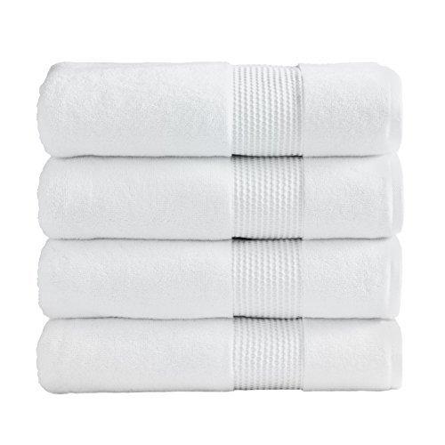 Ice White Super Absorbent Luxury Hotel & Spa Bath Towel Turk