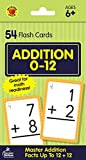 img - for Carson Dellosa - Addition Flash Cards Facts 0 to 12 - 54 Cards with 100 Problems for 1st and 2nd Grade Math, Ages 6+ with Bonus Game Card book / textbook / text book