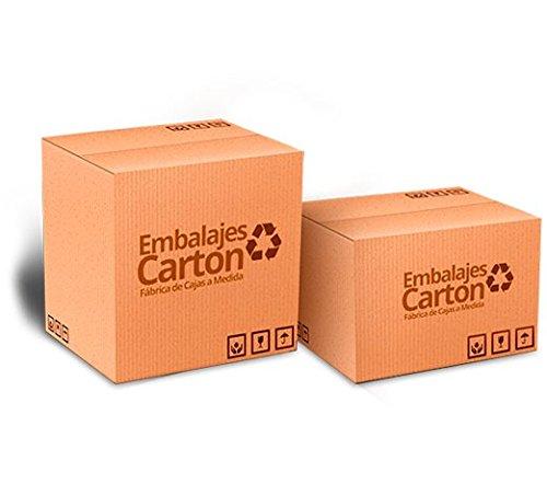 Pack 10 unidades Caja Cartón | Medidas 80 cm x 50 cm x 30 cm | Cartón Corrugado | Color Marrón: Amazon.es: Hogar