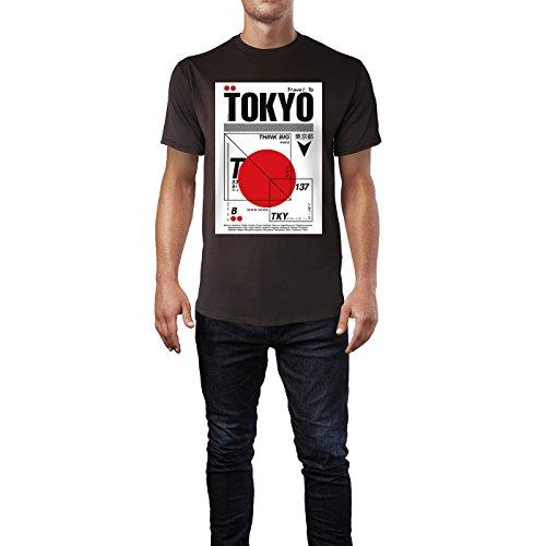 SINUS ART ® Print mit abstrakter Japanflagge