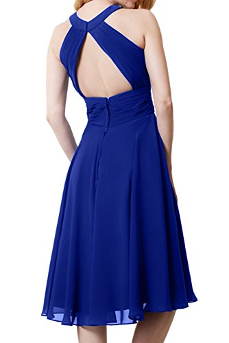 Topkleider trapecio mujer 46 real para azul Vestido vvxq7w1