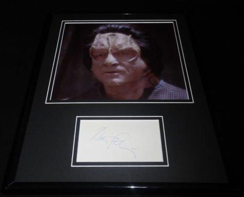 Harris Yulin Signed Framed 11x14 Photo Demonstrate Star Trek