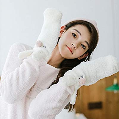 2 Pairs Womens Super Soft Cute Animal Fuzzy Slipper Socks Home Winter Warm Socks at Amazon Women's Clothing store