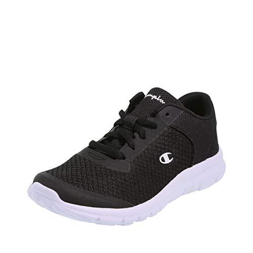 Boys Tennis Shoes - Champion Boy's Black White Performance Gusto Cross Trainer Little Kid Size 1.5 Regular
