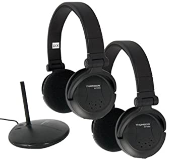 THOMSON 2 auriculares inalámbricos WHP3569D