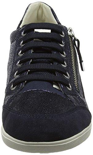 Navy Femme D Basses Myria Bleu Sneakers Geox A 07wnX