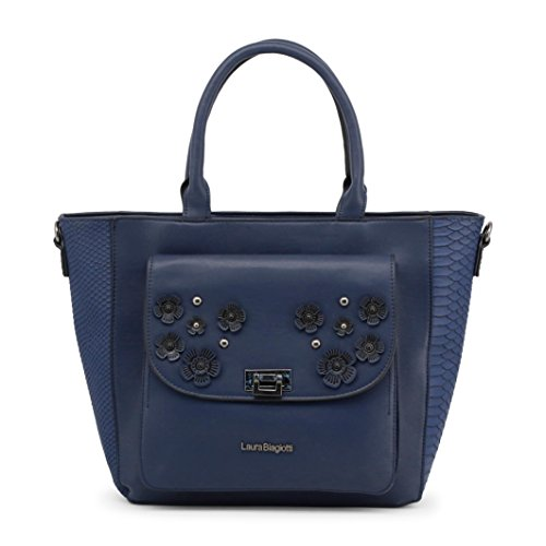 Bag Laura Shopping Black 5 Biagiotti Lb18s114 Woman YBq1YSW