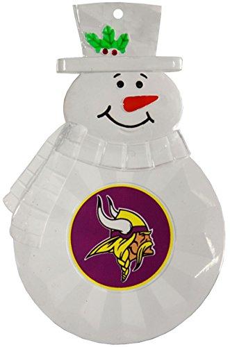 Boelter Brands NFL Minnesota Vikings Traditional Snowman Ornament