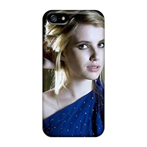 Iphone 5/5s Case, Premium Protective Case With Awesome Look - Emma Roberts Blonde Hair