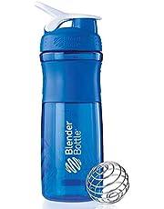 Protein Shaker Blue/White 28oz , 2724677791822