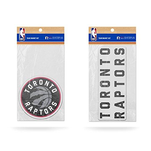 - Rico Industries NBA Toronto Raptors 2-Pack Die Cut Team Logo Magnet Set