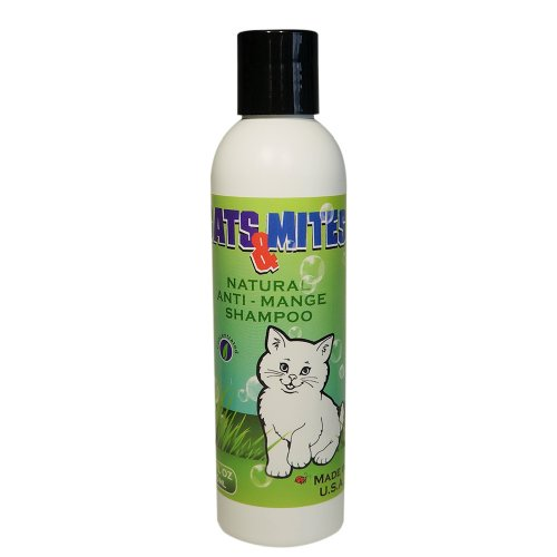 Cats n Mites Shampoo for Treatment of Demodex Mange in Cats and Kittens, 6 oz