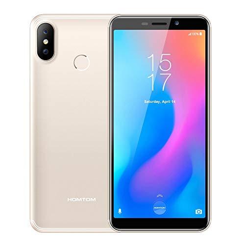 Unlocked Smartphone,Fheaven HOMTOM C2 Quad Core 2GB+16GB 5.5'' Screen 3000mAh Finger/Face ID Unlocked - 4G Smartphone Cell Phones ()
