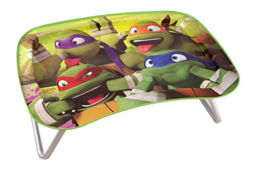 JayBeeCo Teenage Mutant Ninja Turtles Children's Multipurpose Snack Activity - Snack Toddler Tray