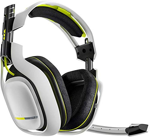 ASTRO Gaming A50 (headset only) Gaming Headset Xbox One / PC / MAC - White- Replacement Headphone Only with no Cables no base (New Open Box) (5.8 Ghz Wireless Headphones)