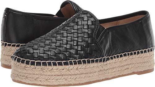 (Sam Edelman Women's Catherine Black Softy Sheep Nappa Leather 6 W US)