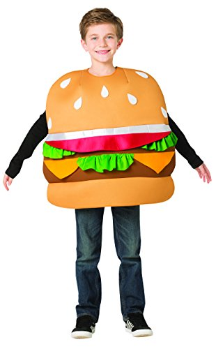 Rasta Imposta Hamburger Slider Costume, Child 7-10 -