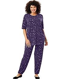 662225fc371 Plus Size Two-Piece Jog Pants Set