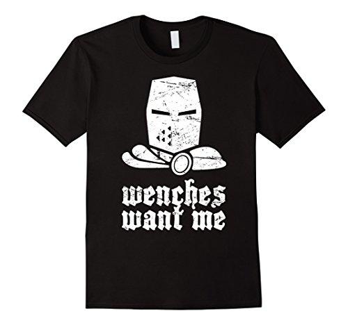 Mens Funny Renaissance Festival Costume T-Shirt Large Black (Costumes For Renaissance Festival)