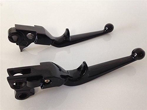 New Black Brake Clutch Lever For Harley Davidson 883 1200 Softail Street Bob
