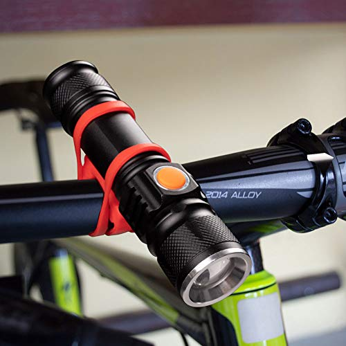 Buy bike flashlight mount strap