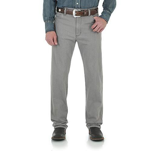 Wrangler Men's 13MWZ Cowboy Cut Original Fit Jean, Smoke Storm, 42W x 30L