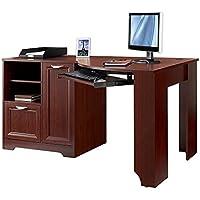 Realspace Magellan Collection Corner Desk (Classic Cherry)