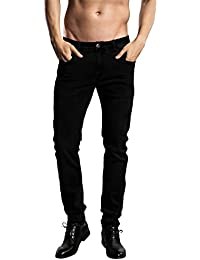Slim Fit Jeans, Men's Younger-Looking Fashionable colorful Super Comfy Stretch Skinny Fit Denim Jeans