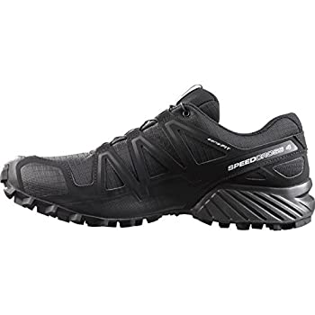 Salomon Men's Speedcross 4 Trail Runner, Black A1u8, 10 M Us 4