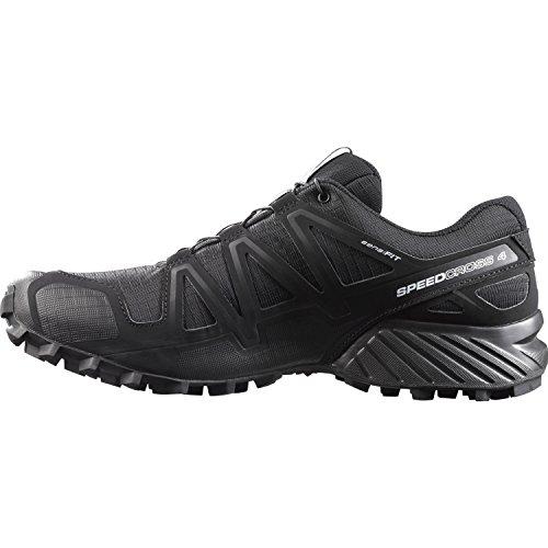 Salomon Men's Speedcross 4 Trail Runner, Black A1U8, 7.5 M US by Salomon (Image #5)