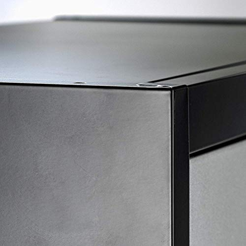 Steel Storage Cabinet 71'' Tall, Lockable Doors and Adjustable Shelves, (Choose Color) 70.86'' Tall x 31.5'' W x 15.75'' D, by Fedmax. (Black) by Fedmax (Image #8)