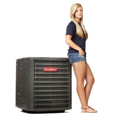 Goodman Goodman 2.5 Ton 14 SEER Heat Pump - R410A GSZ140301 (2.5 Ton Heat Pump)