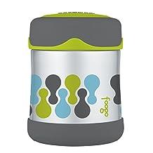 Thermos Foogo Tripoli Stainless Steel 10 Ounce Leak-Proof Food Jar, Set of 2
