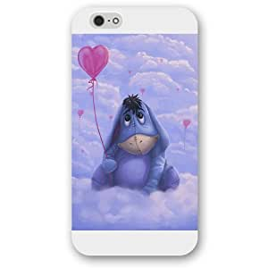 Diy White Frosted Disney Winnie the Pooh Eeyore Diy For Mousepad 9*7.5Inch Case, Only fit Diy For Mousepad 9*7.5Inch